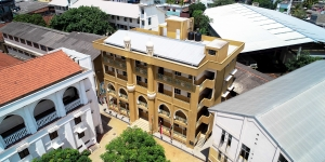 New Muthuwappa building - aerial view